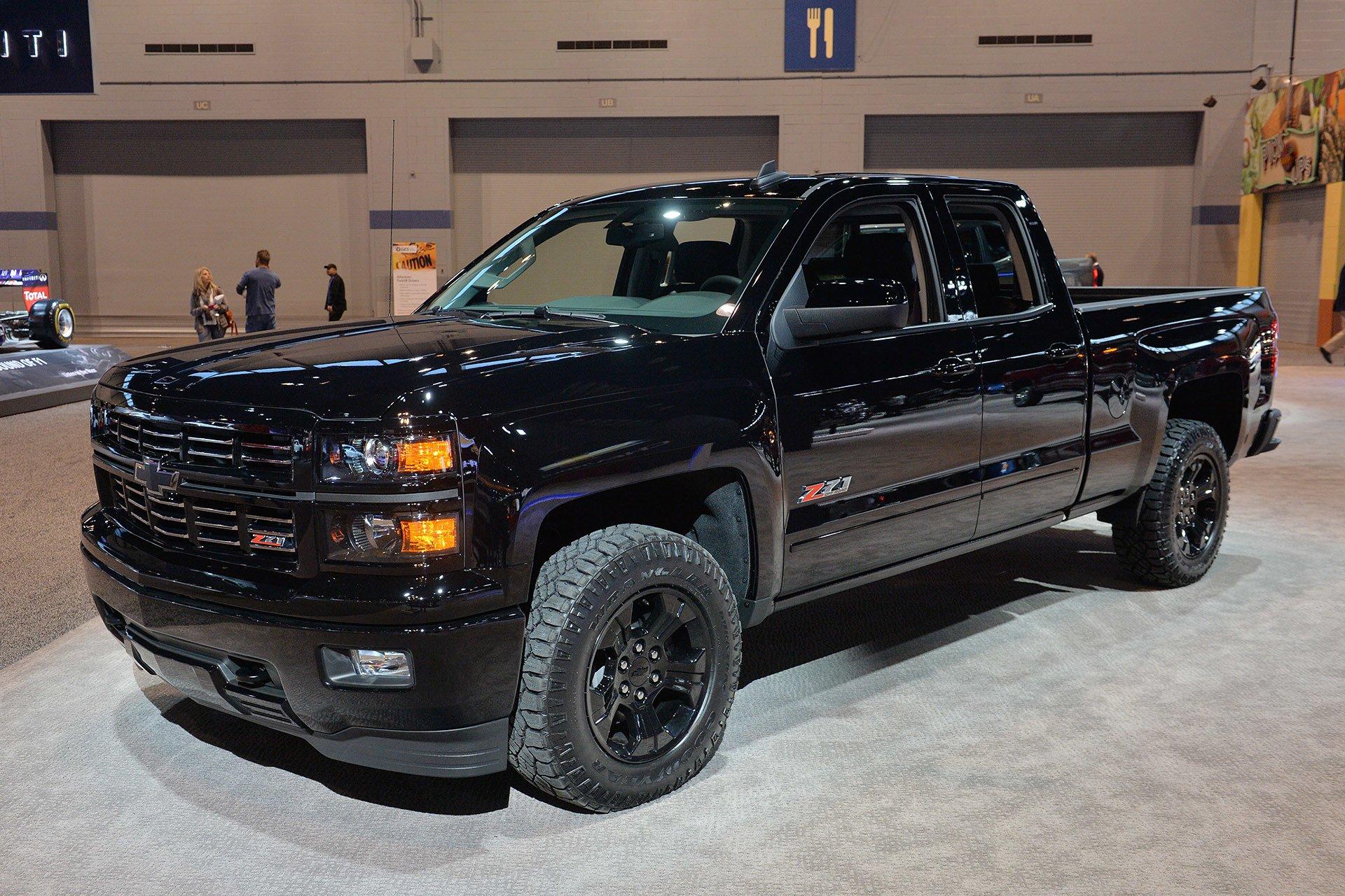 2015 Chevy Silverado Midnight Edition cars truck wallpaper ...