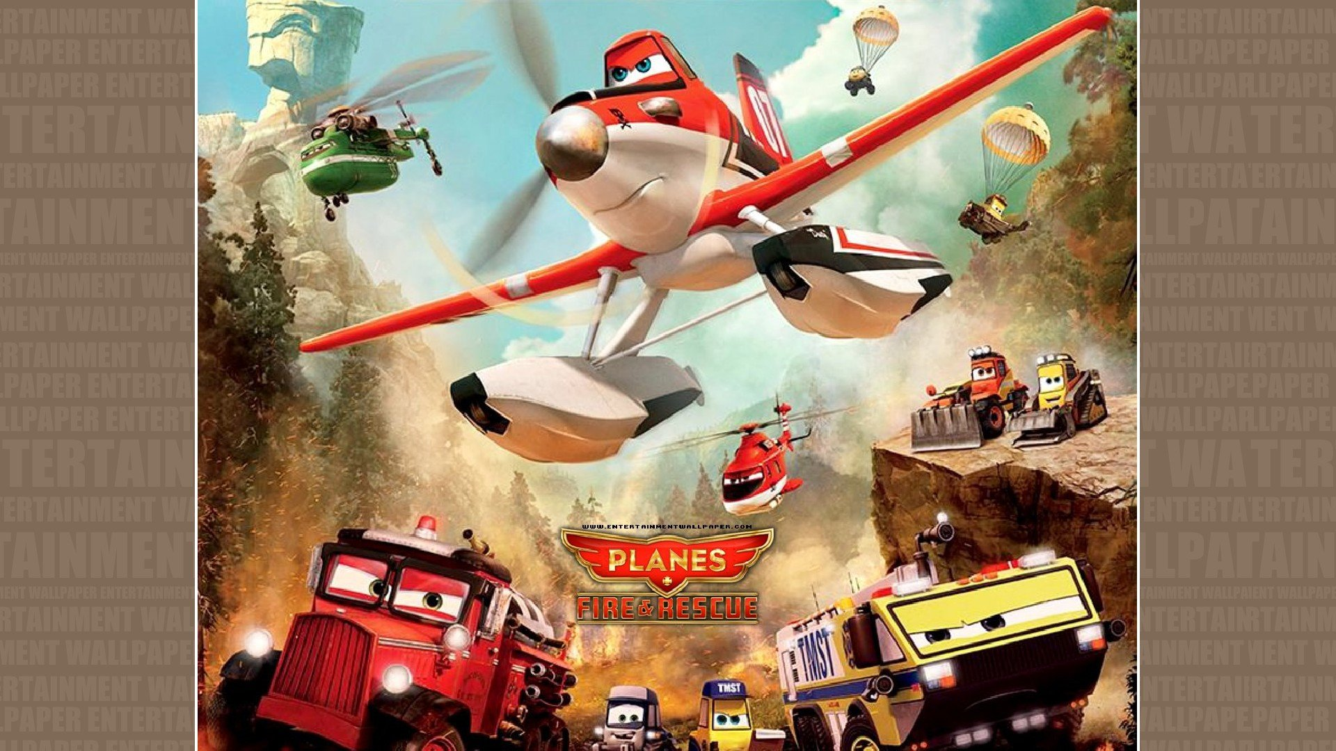 PLANES Fire Rescue animation aircraft airplane comedy ...