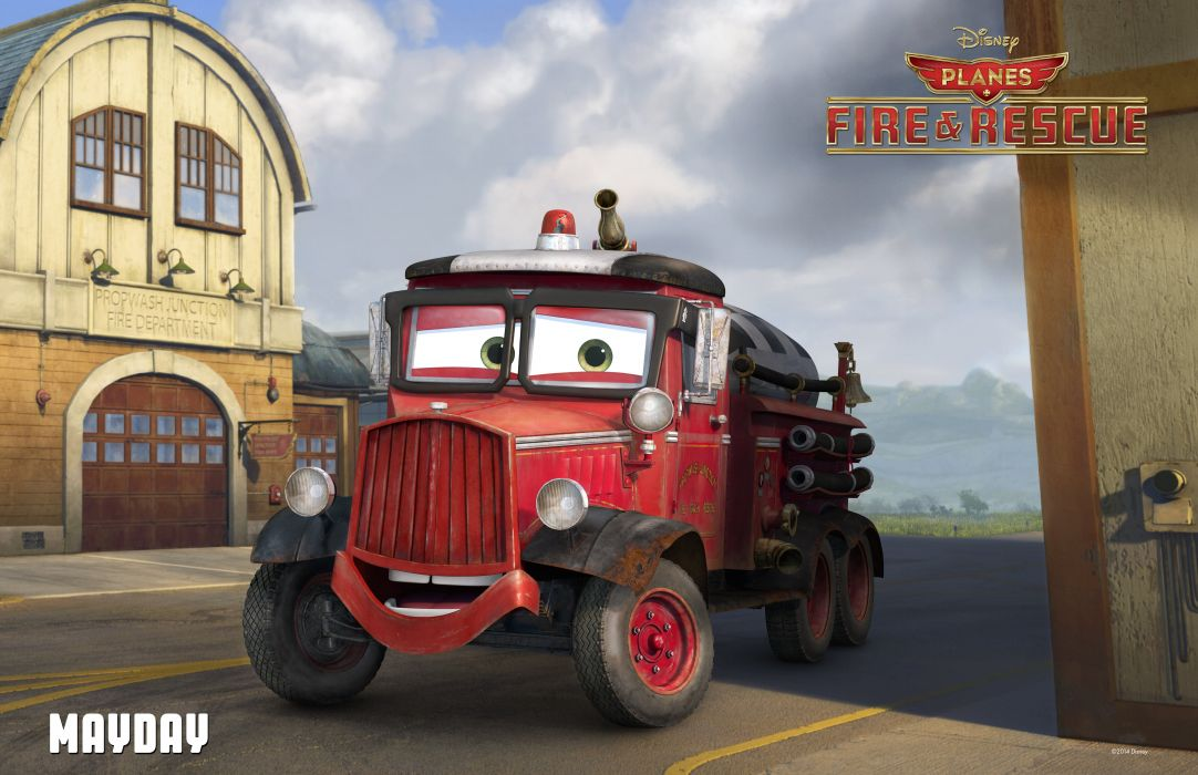 PLANES Fire Rescue animation aircraft airplane comedy family 1pfr disney emergency poster wallpaper