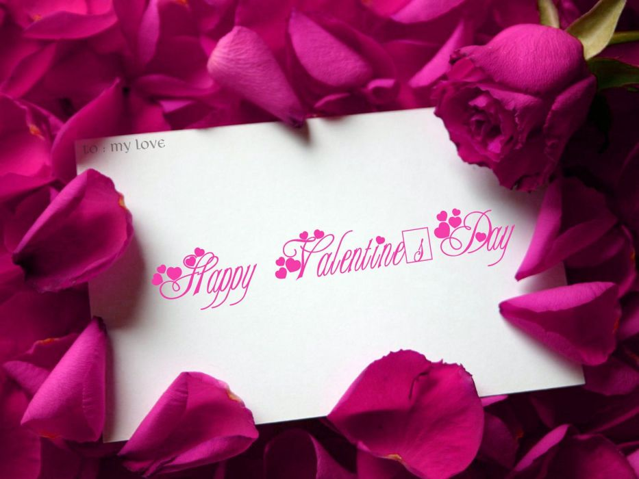 VALENTINES DAY holiday mood love wallpaper