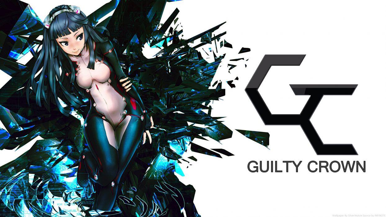 guilty crown anime girl wallpaper
