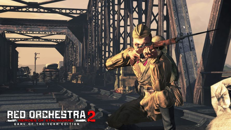 RED ORCHESTRA tactical shooter stealth action fighting military war 1ra poster wallpaper