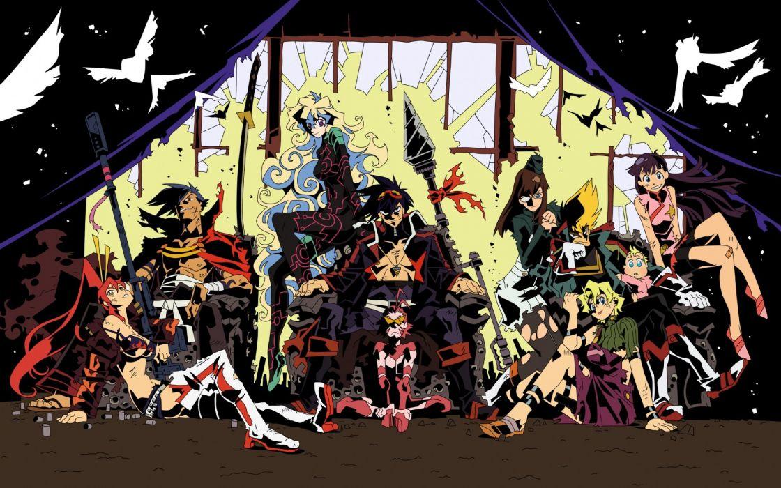 gurren lagann girl anime wallpaper
