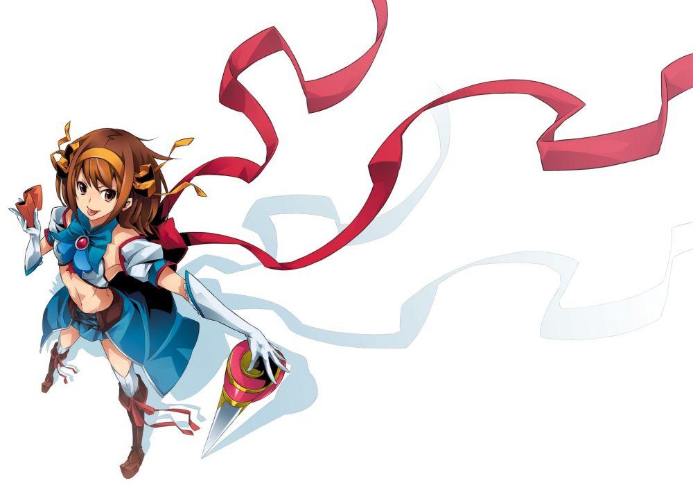 haruhi girl anime wallpaper