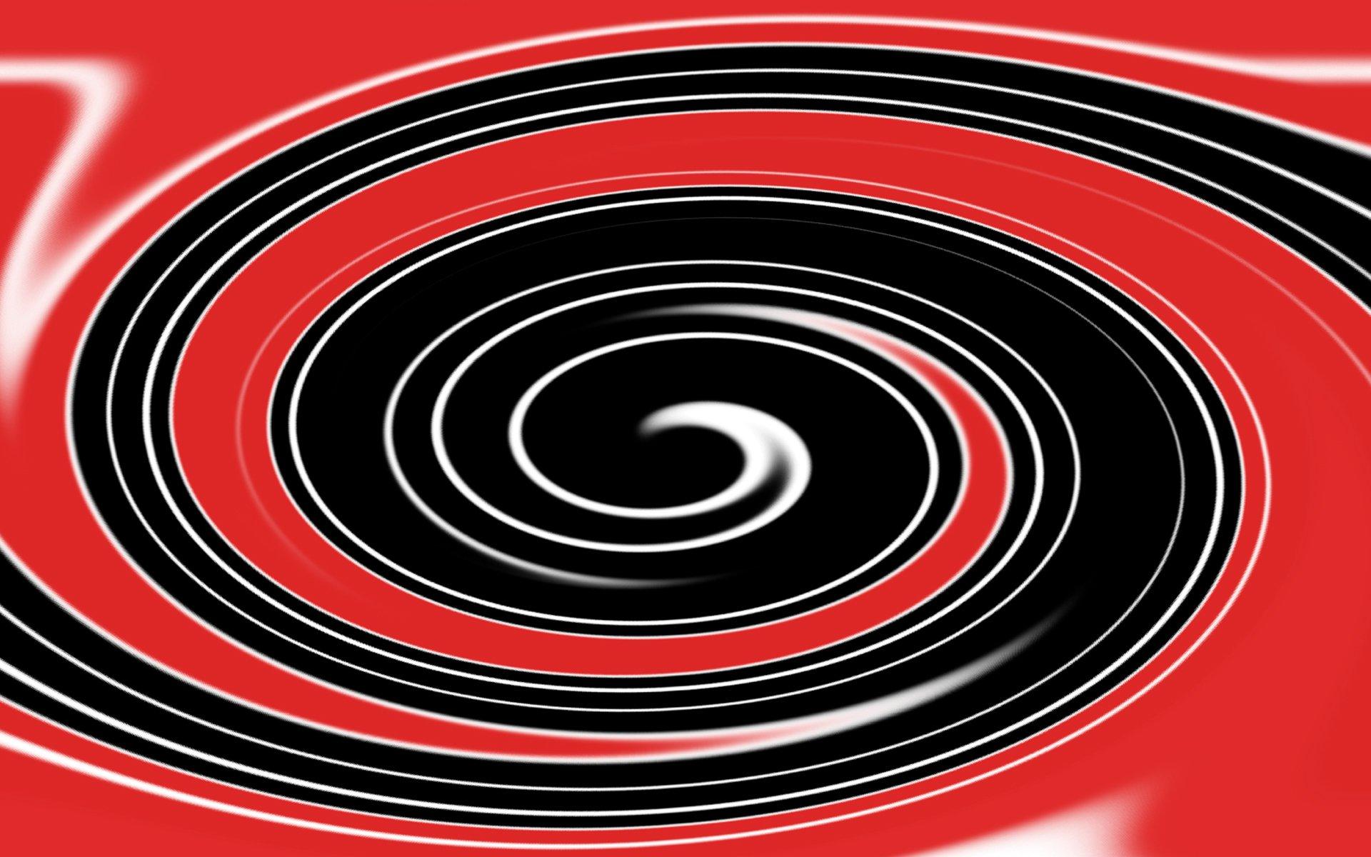 Twister red/black/white wallpaper