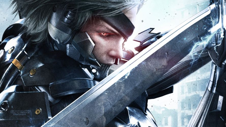 METAL GEAR RISING Revengeance fighting cyborg robot warrior sci-fi 1mgrr action futuristic sword wallpaper