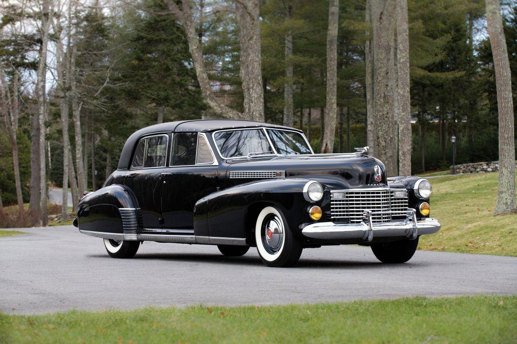 1941 Cadillac Sixty Special TownCar Derham luxury limosuine retro wallpaper