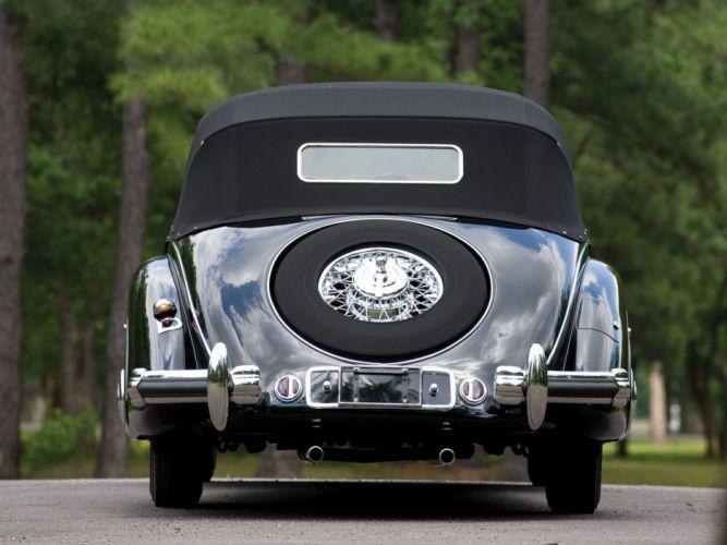 1936 Mercedes Benz 540K Special Cabriolet luxury retro vintage wallpaper