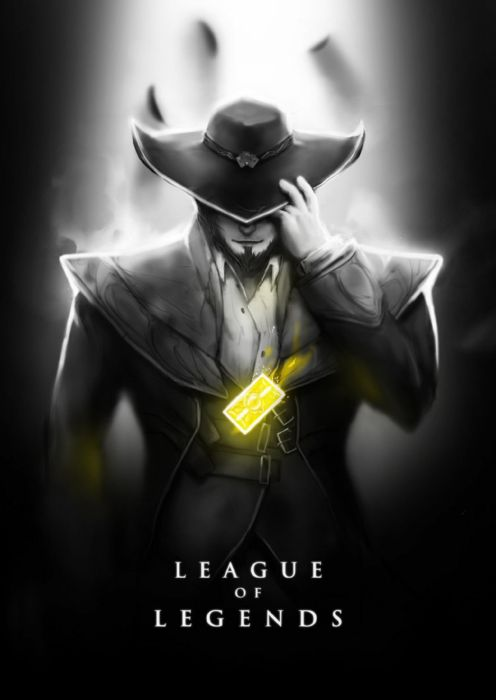 League of Legends Poster Twisted Fate wallpaper
