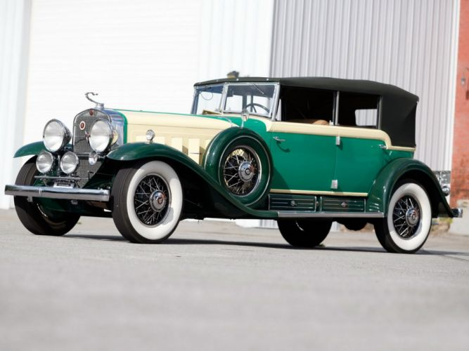 1930 Cadillac V16 452 All-Weather Phaeton by Fleetwood (4380 wallpaper