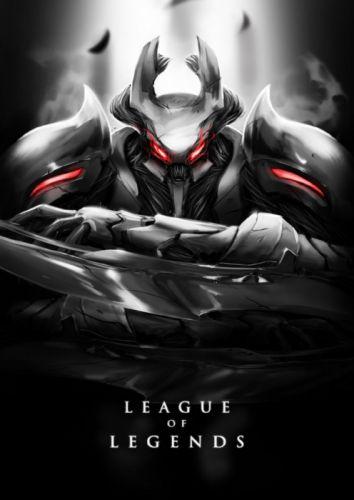 League of Legends Poster Nocturne wallpaper