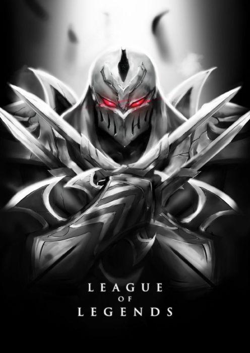 League of Legends Poster Zed wallpaper