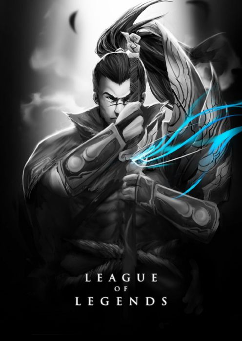 League of Legends Poster Yasuo wallpaper