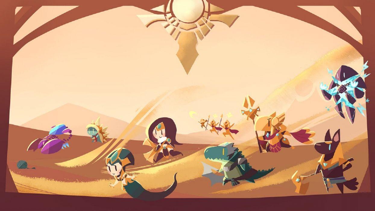 League of Legends Fan Art Shurima wallpaper