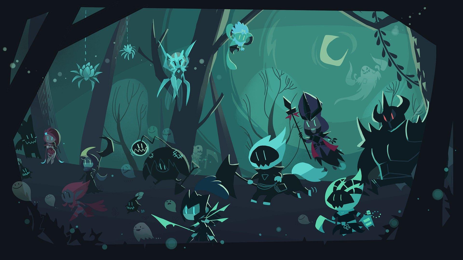 League Of Legends Fan Art Shadow Isles Wallpaper 1920x1080