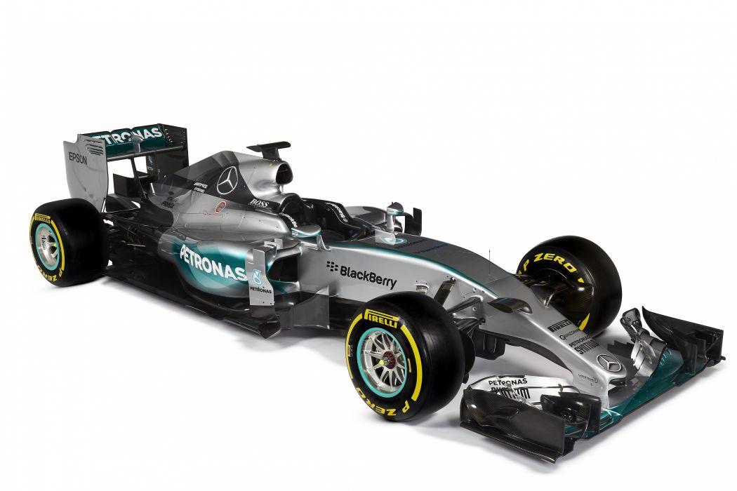 2015 Mercedes AMG F-1 W06 Hybrid formula race racing wallpaper
