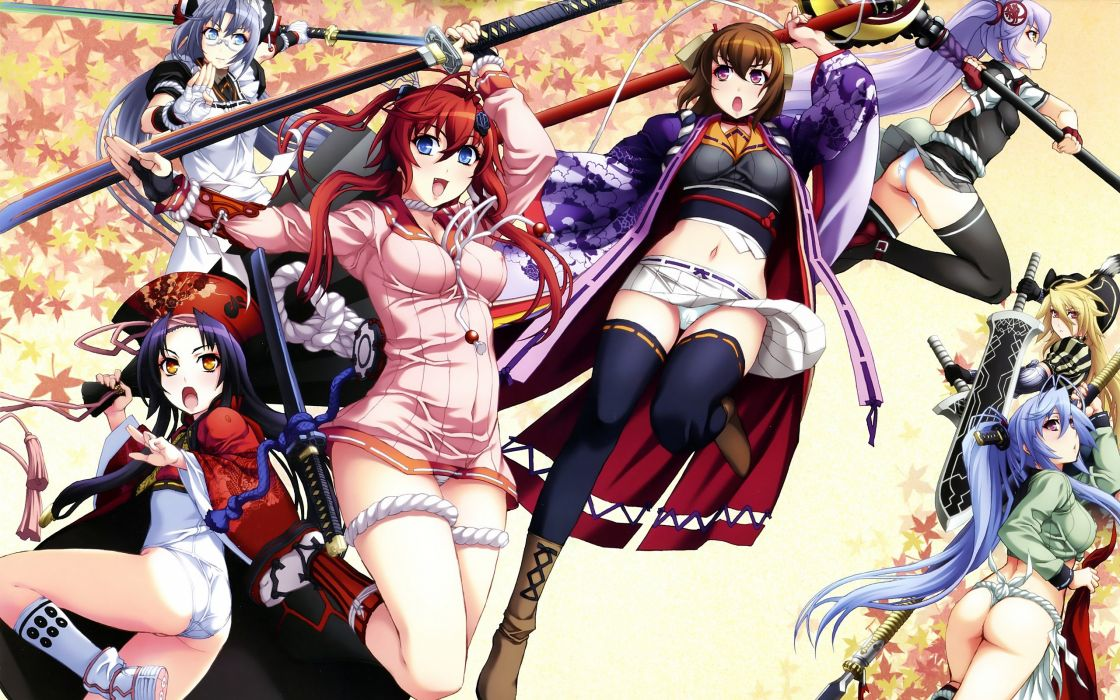 Haykka Ryouran anime wallpaper