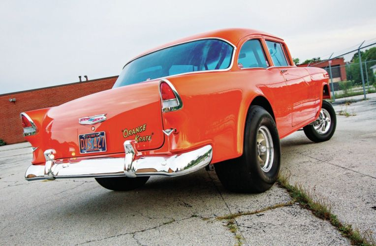 1955 Chevrolet Chevy Sedan Bel Air 210 Gasser USA 2048x1340 (3) wallpaper