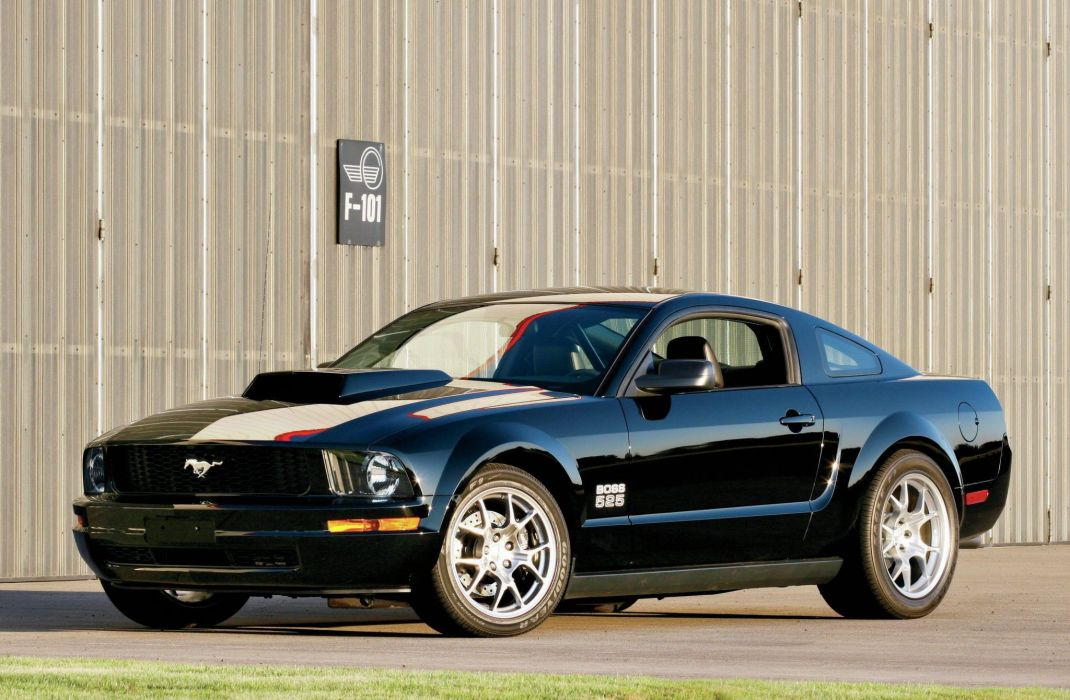 2005 Ford Mustang Boss 525 Muscle USA 2048x1340 (1) wallpaper