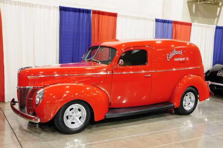 1940 Ford Sedan Delivery Hot Rod Custom USA 2048x1360 (1) wallpaper