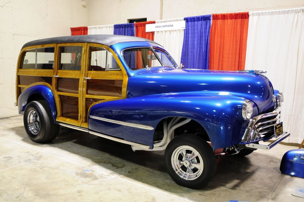 1948 Oldsmobile Woodie Wagon Gasser 2048x1360 wallpaper