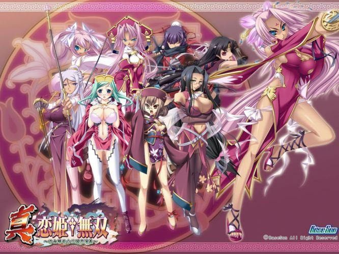 Koihime Musou anime girl wallpaper
