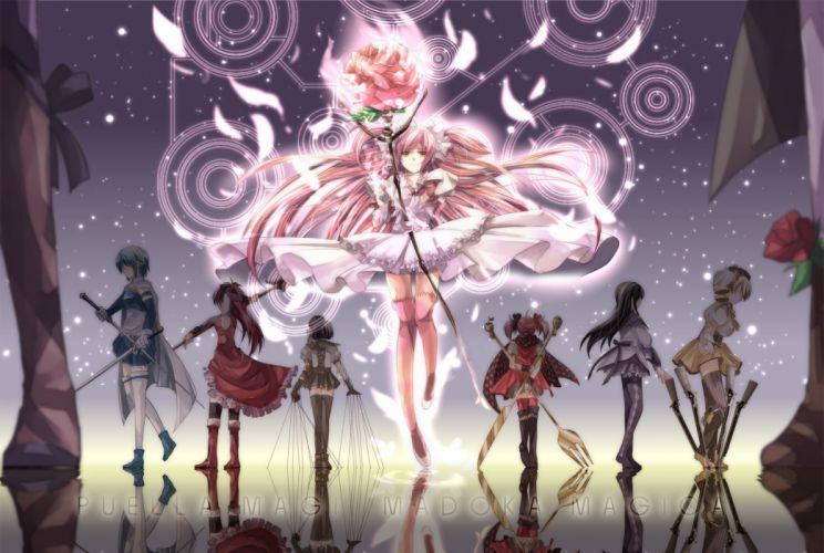 Madoka anime girl wallpaper
