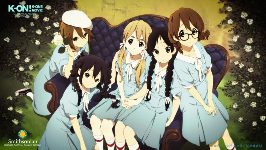 k-on anime girl wallpaper