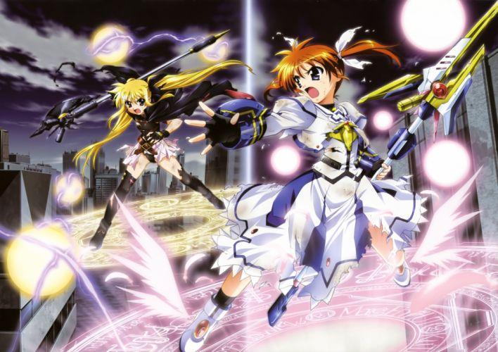 Nanoha anime girl wallpaper