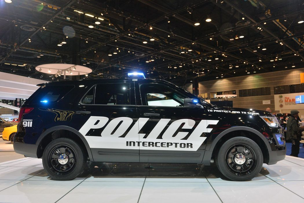 2016 Ford interceptor police suv utility vehicle wallpaper