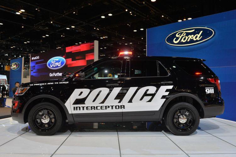 2016 Ford interceptor police suv utility vehicle wallpaper