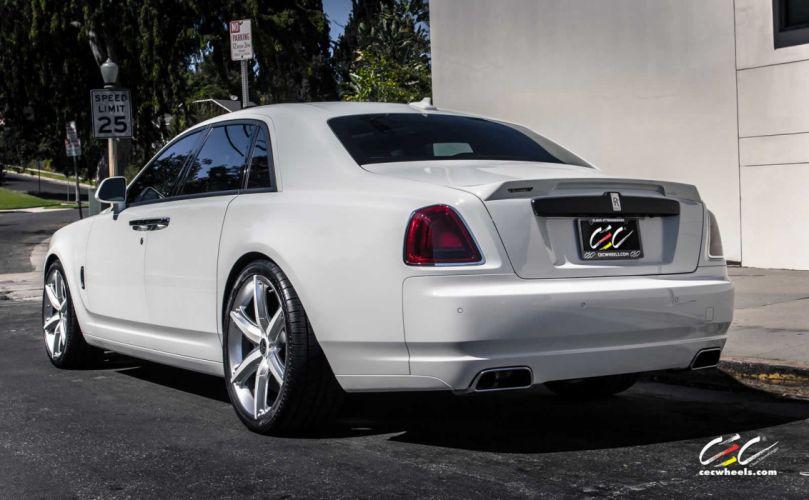 2015 cars CEC Tuning wheels Rolls Royce Ghost wallpaper