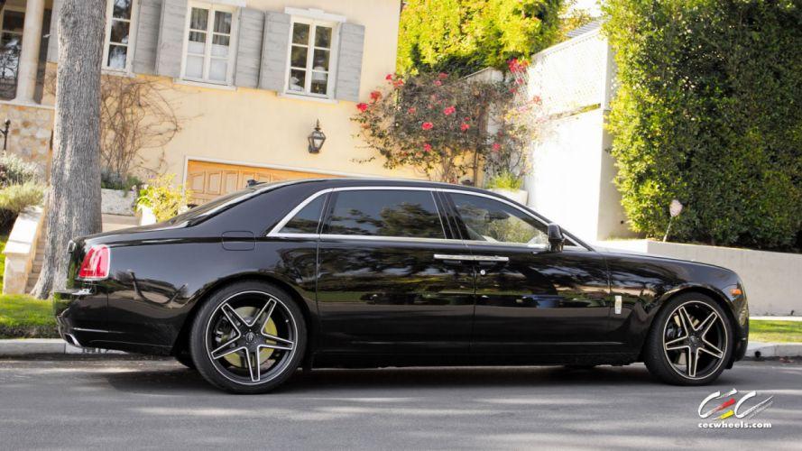 2015 cars CEC Tuning wheels Rolls Royce Ghost EWB wallpaper