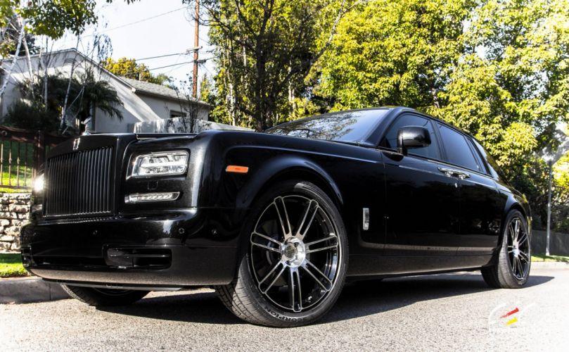 2015 cars CEC Tuning wheels Rolls Royce Phantom wallpaper