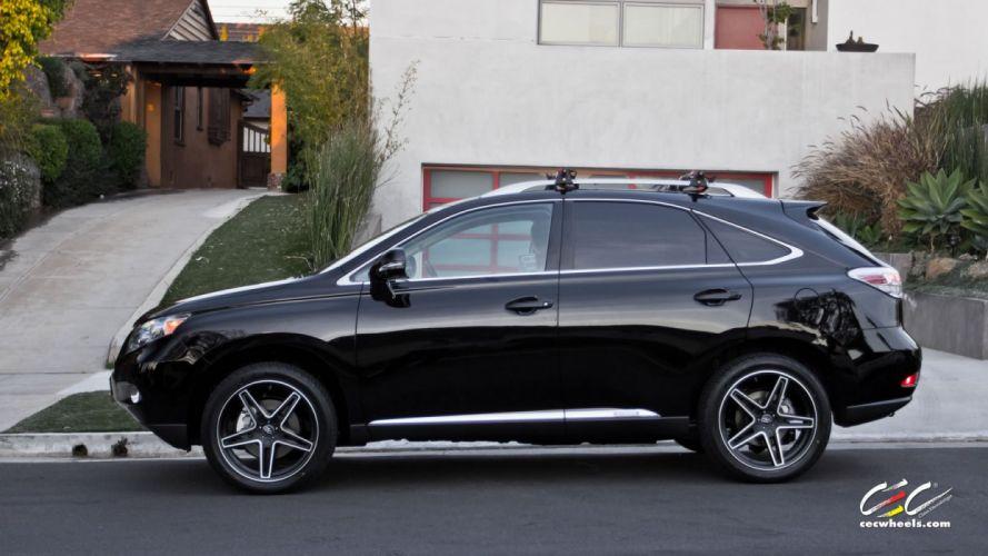 2015 cars CEC Tuning wheels Lexus RX350 suv wallpaper