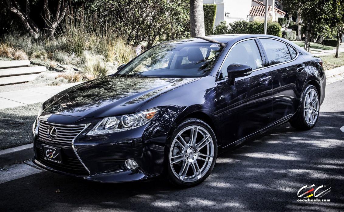 2015 cars CEC Tuning wheels Lexus-es wallpaper