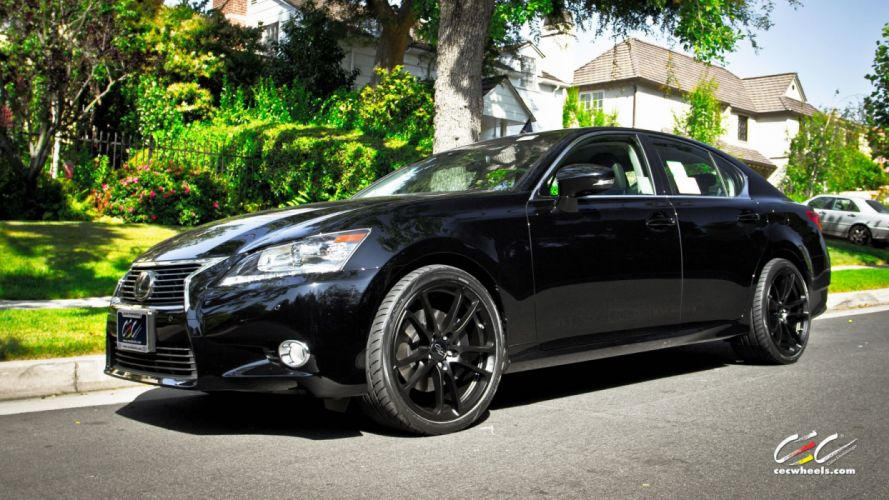 2015 cars CEC Tuning wheels Lexus-gs wallpaper