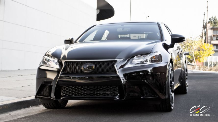 2015 cars CEC Tuning wheels Lexus-gs wallpaper