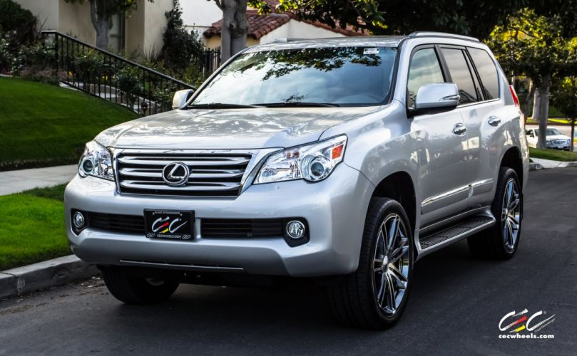 2015 cars CEC Tuning wheels Lexus-GX460 suv wallpaper