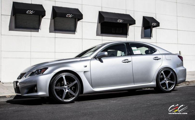 2015 cars CEC Tuning wheels Lexus-is-f wallpaper