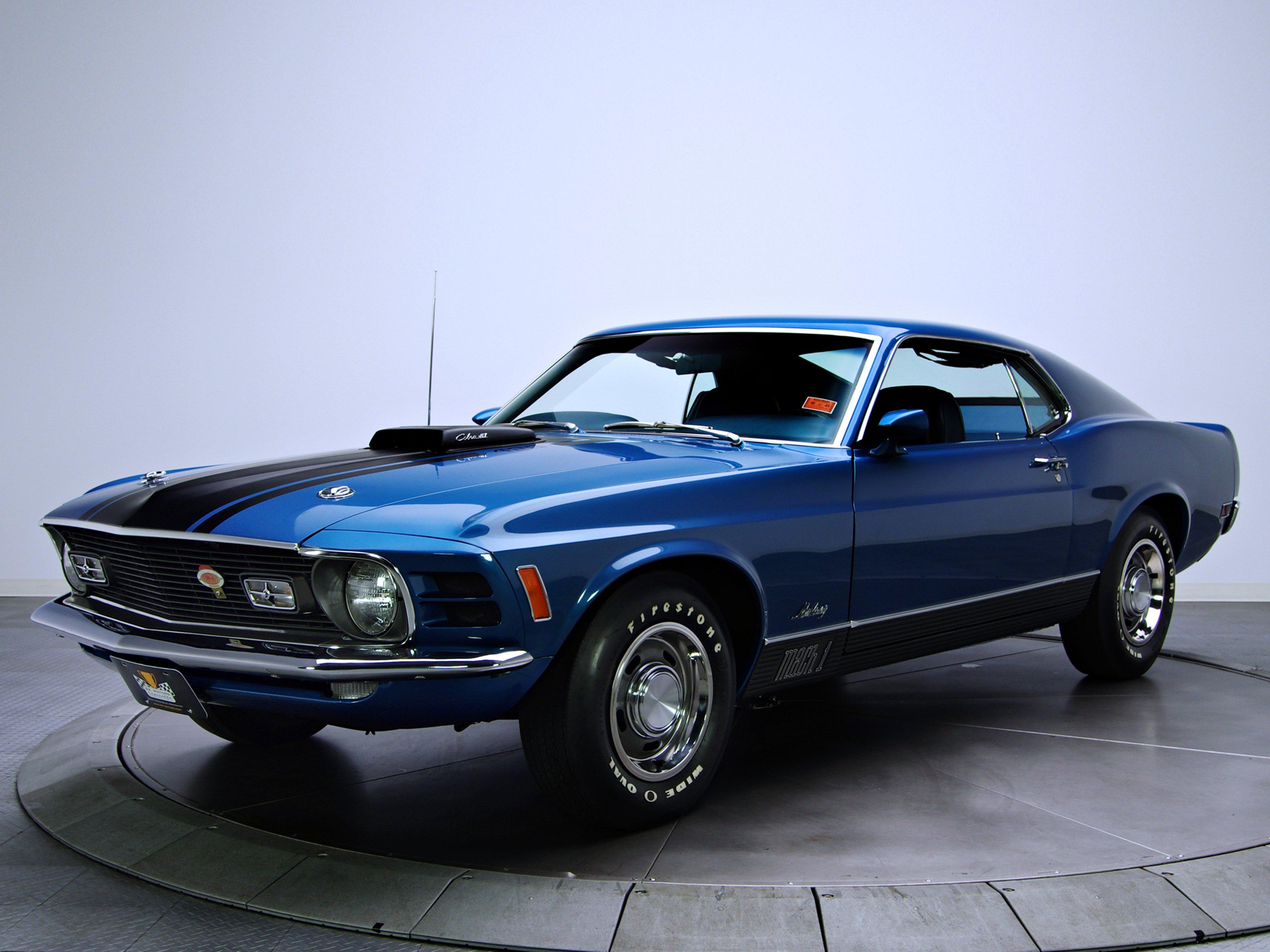 Mustang Mach Super Cobra Jet Cars Old Classic Motors