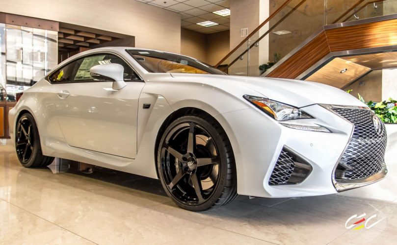 2015 cars CEC Tuning wheels Lexus RC-F wallpaper