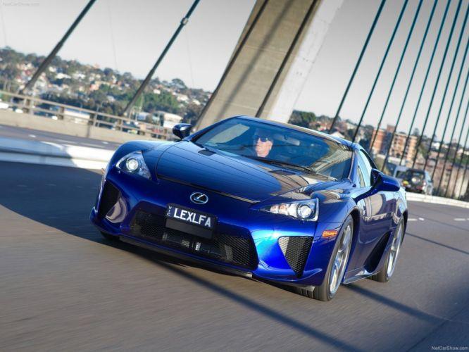 Lexus lfa cars coupe supercars japan wallpaper