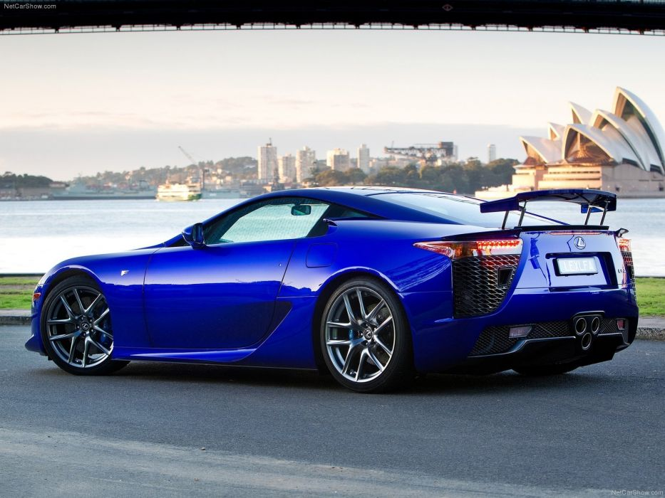 Lexus lfa cars coupe supercars japan wallpaper