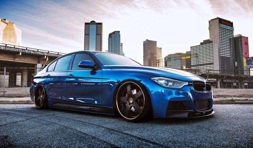 tyuning BMW cars super blue motors speed sport race wallpaper