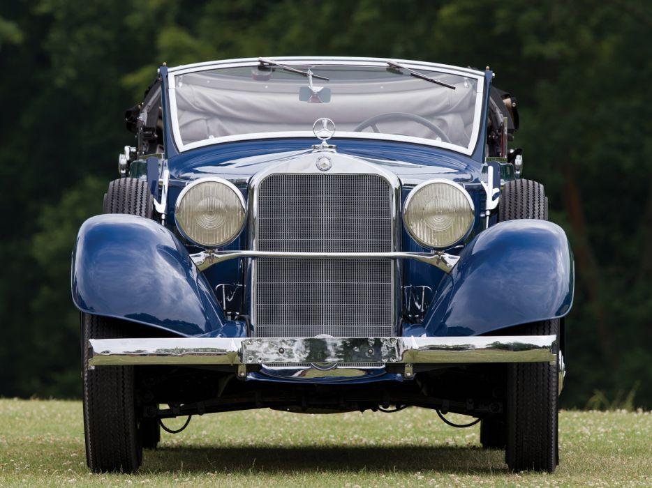 Mercedes Benz 290 Cabriolet W18 1933 1937 classic cars wallpaper