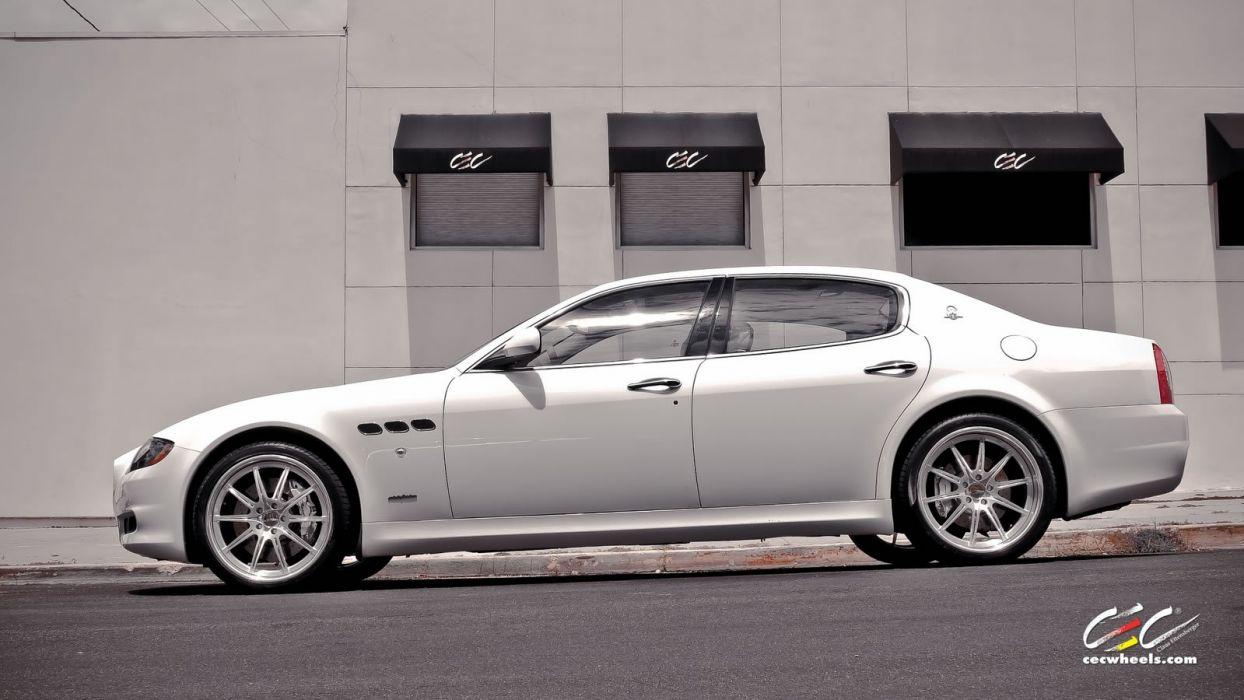 2015 cars CEC Coupe supercars Tuning wheels Maserati Quattroporte wallpaper