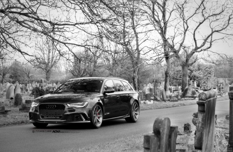 2015 cars adv1 wagon Tuning wheels AUDI RS6 AVANT wallpaper