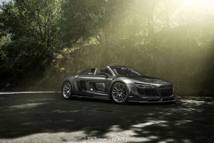 2015 cars adv1 Tuning wheels AUDI R8 SPYDER wallpaper