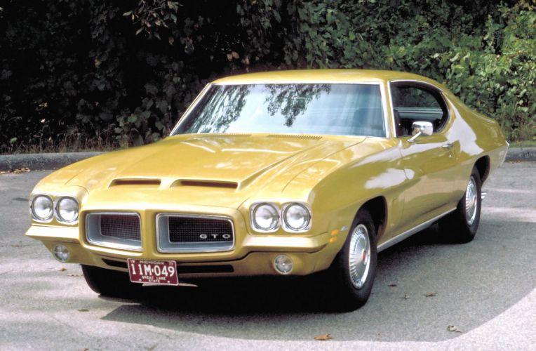 1972 Pontiac LeMans GTO Hardtop Coupe muscle classic wallpaper
